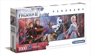 Disney Puzzle Frozen 2 Panorama 1000 Pieces Puzzle | Merchandise