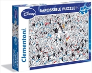 Disney Puzzle 101 Dalmatians Impossible Puzzle 1000 Pieces | Merchandise