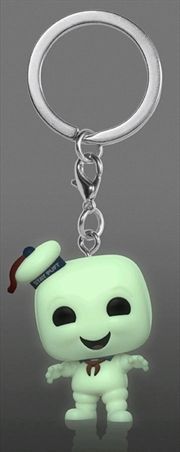 Ghostbusters - Stay Puft Glow US Exclusive Pocket Pop! Keychain [RS] | Pop Vinyl