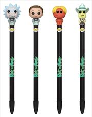 Rick and Morty - Pop! Pen Topper #3 Assortment | Merchandise