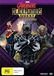 Avengers Assemble - Black Panther's Quest - King Breaker | DVD