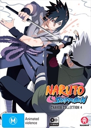 Naruto Shippuden Chakra - Collection 4 - Eps 213-283 | DVD