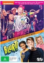 Jojo Siwa - My World / Blurt   DVD