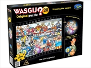 Wasgij Original 28 Dropping The Weight 1000 Piece Puzzle | Merchandise