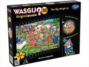 Wasgij Original 32 Big Weigh In 1000 Piece Puzzle | Merchandise