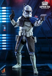"Star Wars: The Clone Wars - Captain Rex 1:6 Scale 12"" Action Figure | Merchandise"