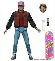 "Back to the Future 2 - Marty Ultimate 7"" Action Figure 