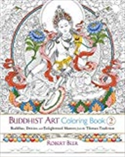 Buddhist Art Coloring Book 2 | Paperback Book
