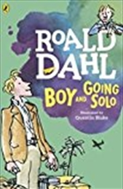 Boy and Going Solo   Paperback Book