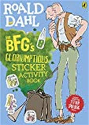The Bfg's Gloriumptious Sticker Activity Book | Paperback Book