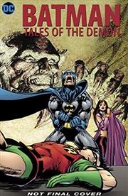 Batman: Tales of the Demon | Hardback Book