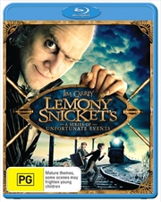 Lemony Snicket's - A Series Of Unfortunate Events   Blu-ray