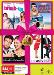 Ugly Truth / The Break-Up / Forgetting Sarah Marshall / Friends With Benefits | 4 Movie Set - Pink R | DVD