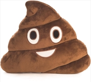 Velour Cushion Poo | Homewares