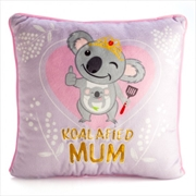 Koalafied Mum Plush Cushion | Homewares