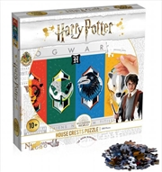 Harry Potter - House Crests 500 Piece Puzzle | Merchandise