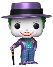 Batman 1989 - Joker with Hat Metallic US Exclusive Pop! Vinyl [RS] | Pop Vinyl