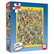 Simpsons Casting Call Puzzle 1000 Piece Puzzle | Merchandise