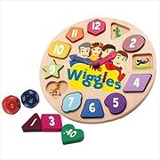 Wiggles Wooden Clock Game | Merchandise