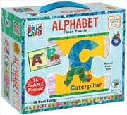 Alphabet Floor Puzzle - World of Eric Carle | Merchandise