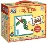 Counting Floor Puzzle - Very Hungry Caterpillar | Merchandise