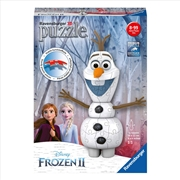 Frozen 2 Olaf 3D Puzzle 54pc | Merchandise