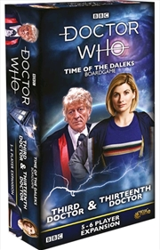 Doctor Who - Time of the Daleks Third, Eighth & Thirtheenth Doctor Expansion | Merchandise