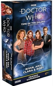 Doctor Who - Time of the Daleks Friends River, Amy, Clara & Rory Expansion | Merchandise