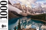 Moraine Lake Alberta Canada 1000 Piece Jigsaw Puzzle | Merchandise
