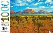 Uluru Kata Tjuta National Park 1000 Piece Puzzle | Merchandise