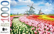 Dutch Windmills Netherlands 1000 Piece Puzzle | Merchandise