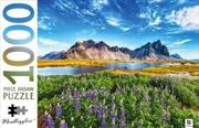 Stokksnes Cape Iceland 1000 Piece Puzzle | Merchandise