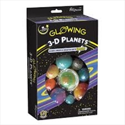 Glowing 3D Planets Boxed Set | Toy