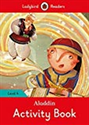 Aladdin Activity Book - Ladybird Readers Level 4 | Paperback Book