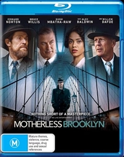 Motherless Brooklyn   Blu-ray