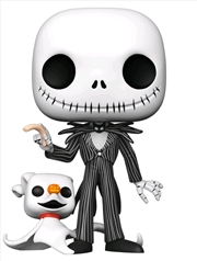 "The Nightmare Before Christmas - Jack with Zero 10"" Pop! Vinyl 