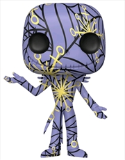 The Nightmare Before Christmas - Jack (Artist) Purple & Yellow Pop! Vinyl with Protector | Pop Vinyl
