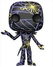 The Nightmare Before Christmas - Jack (Artist) Black & Yellow US Exc Pop! with Protector [RS] | Pop Vinyl
