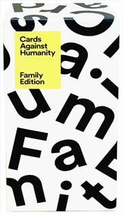 Cards Against Humanity Family Edition | Merchandise