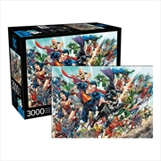 DC Comics Cast 3000 Piece Puzzle | Merchandise