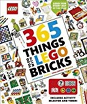 365 Things To Do With Lego (r) Bricks: With Activity Selector And Timer | Hardback Book