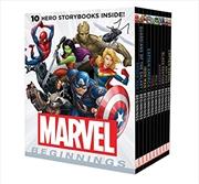 Marvel Beginnings: 10 Storybook Boxed Set (hardcover) | Hardback Book