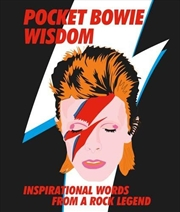 Pocket Bowie Wisdom: Witty Quotes And Wise Words From David Bowie | Hardback Book