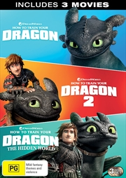How To Train Your Dragon 1-3 | DVD