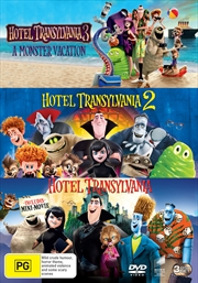 Hotel Transylvania - 1, 2 And 3 | DVD