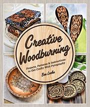 Creative Woodburning | Paperback Book