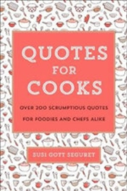 Quotes Of Cooks | Hardback Book