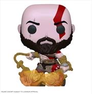 God of War - Kratos with Blades Glow US Exclusive Pop! Vinyl [RS] | Pop Vinyl
