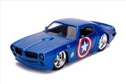 Captain America - Captain America 1972 Pontiac Firedbird 1:32 Scale Hollywood Ride | Merchandise