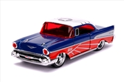 Captain America - Falcon 1957 Chevy Bel-Air 1:32 Scale Hollywood Ride | Merchandise